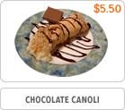 Chocolate Canoli