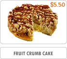 Fruit Crumb Cake